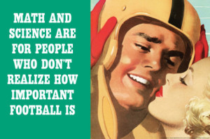 math-science-for-people-who-don-t-appreciate-football-funny-plastic-sign